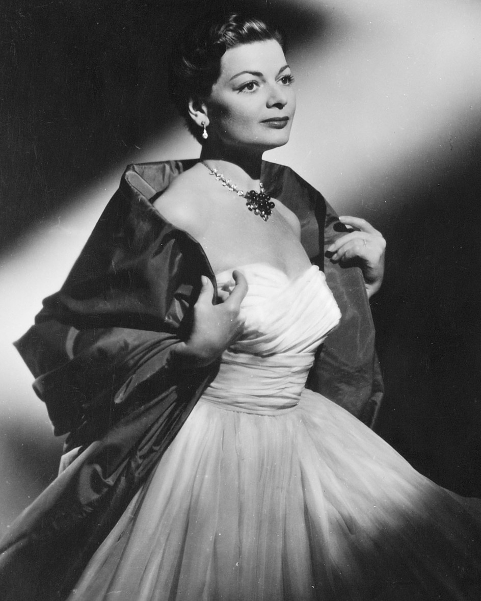 Lys Assia, the first winner of the Eurovision Song Contest   Photograph: SRF