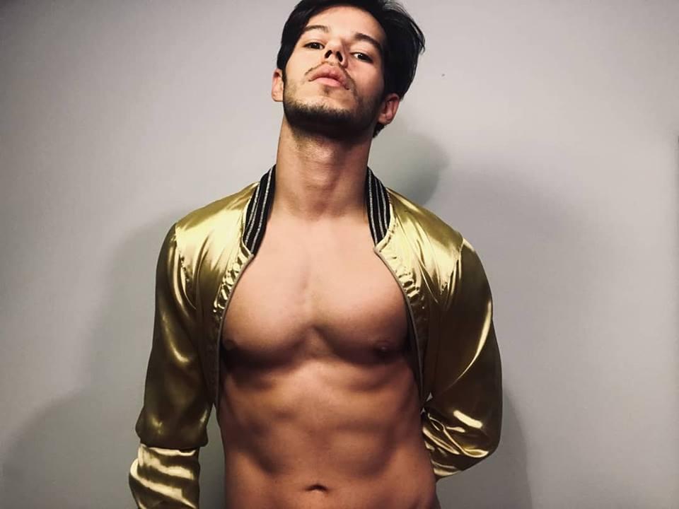 Diego Siqueira, Croatia backing dancer. Image source: HRT