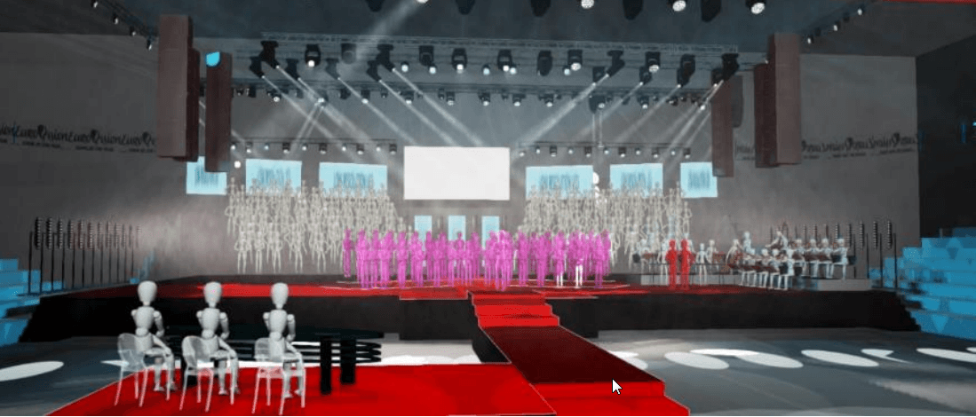 Eurovision Choir 2019 Stage