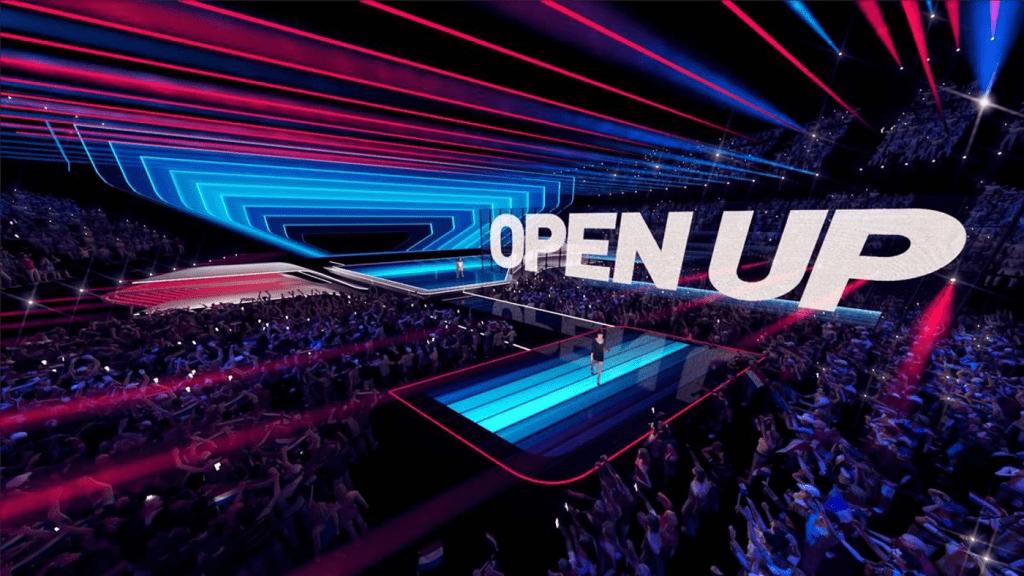 Eurovision Stage - Semi Transparent LED