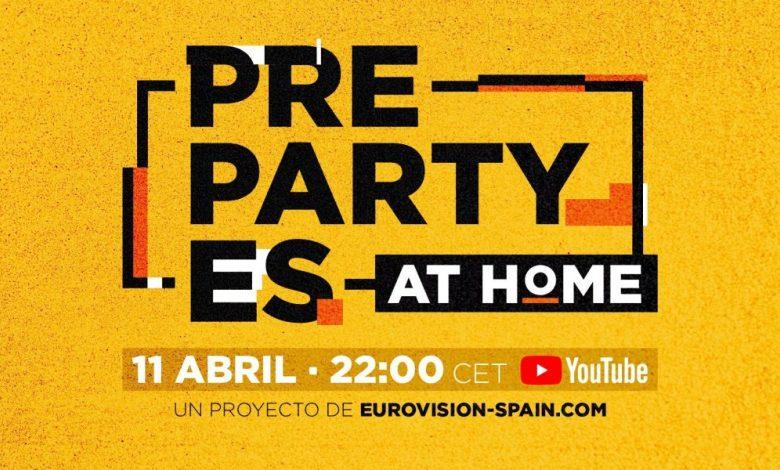 preparty es at home
