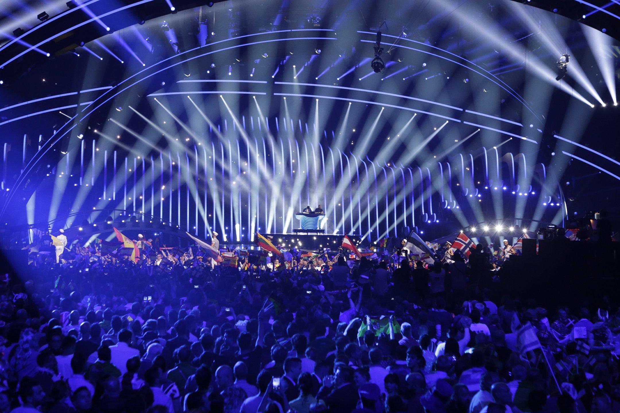 Eurovision 2018 Stage / Photo: Thomas Hanses, EBU
