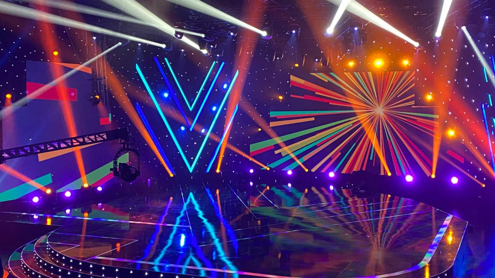 Destino Eurovision Stage Design. Image Source: RTVE