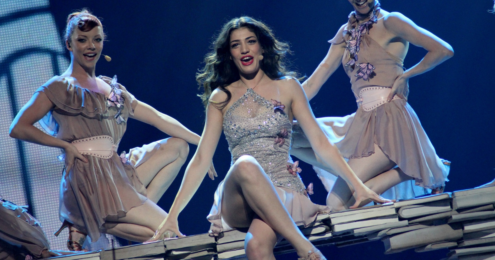 Ivi Adamou, Cyprus. Image source: EBU / Eurovision.tv